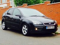 FORD FOCUS 1.6 ZETEC 2005 LOW MILEAGE FSH 1YRS MOT JUST SERVICED CLEAN&TIDY 3 MONTHS WARRANTY
