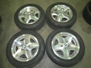 JDM 98-02 Honda Accord 5 Lugs Wheels 5X114.3 Rims 15X6.5 +55