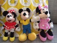 Plush disney toys