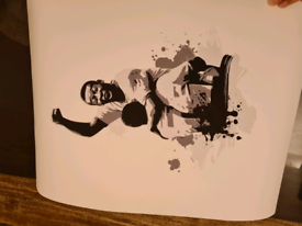 "Pele Brazil by Søre Schrøder Art Print - 18"" x 22"" (Printed Area 13"""