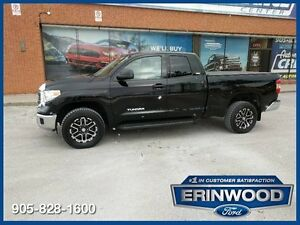 2014 Toyota Tundra SR5Double Cab / LTHR / RV CAM / ALLOYS
