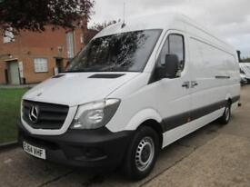 2014 64 MERCEDES-BENZ SPRINTER 2.1 313CDI XLWB HIGH ROOF. AIRCON. 1 OWNER. RARE