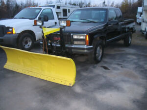 Diesel Chev 1500. 4x4.  Plow.  Trades Considered.