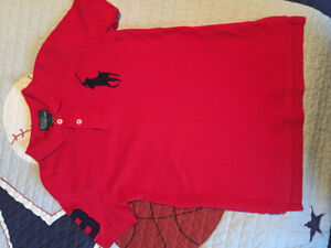 Size 7 dressy shirts and pant for boys 4 pieces