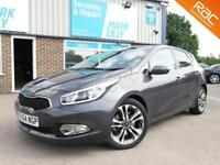 2013 Kia ceed 1.6 GDi ( 133bhp ) DCT 2014MY 4 Tech GREAT SPEC 1 OWNER