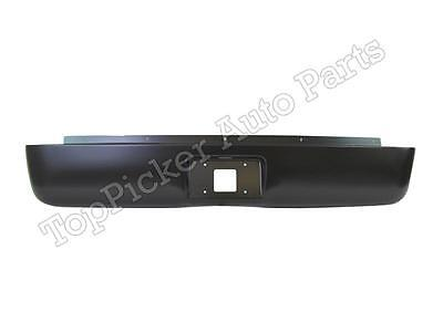 For 2007-2012 CHEVY SILVERADO FLEETSIDE BED REAR ROLL PAN WITH LICENSE PLATE NEW
