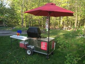 HOTDOG / SAUSAGE CART  --  MAKE LOTS OF CASH!!