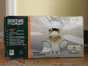 3 speed fan and light fixture