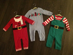 Gymboree Holiday One-pieces - Size 6-12 Months