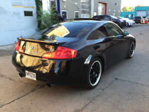 2006 INFINITI G35 Coupe 6-SPEED MANUAL, NEVER WINTER DRIVEN!!