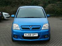 2008 08 Vauxhall Meriva 1.6 i Turbo 16v VXR 5dr VXR MODEL WITH ONLY 1 OWNER