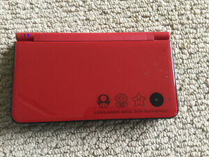 Nintendo DSixl Mario Edition with charger and 60 Games