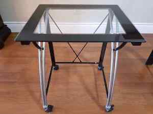 Desk (Set of 2) - With Tempered Glass Tops Kingston Kingston Area image 3