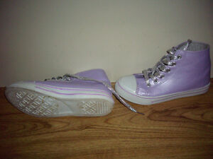 2 pairs of Girls sneakers for sale in Truro