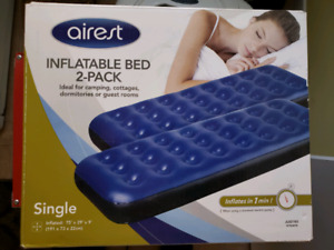 Airest inflatable Bed / Mattress 2 pack