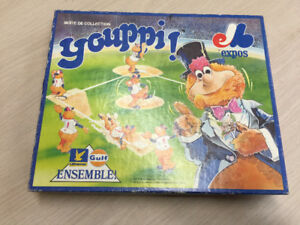 Montreal Expos Youppi Baseball (12) Gulf Official Figurines Set
