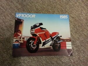 1985 Honda VF1000R brochure mint condition collectable