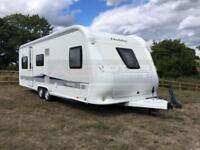 Hobby - Prestige 650 UMF 2013 - 5 Berth Touring Caravan - FIXED BED