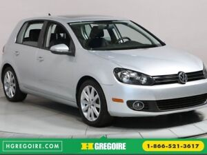 2013 Volkswagen Golf Highline MAGS BLUETHOOT CUIR TOIT OUVRANT