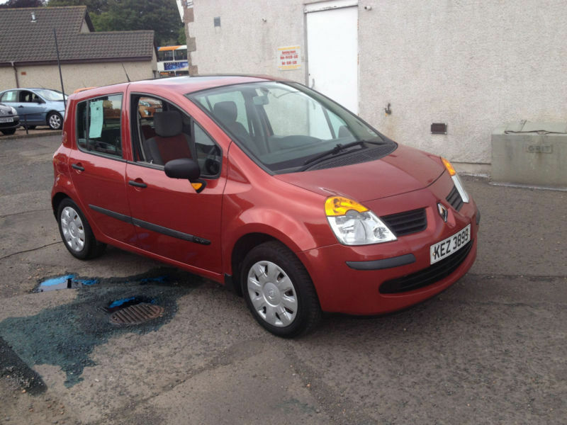 renault modus 1 4 2006 16v 98 oasis in broughty ferry dundee gumtree. Black Bedroom Furniture Sets. Home Design Ideas