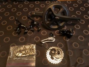 New shimano 105 5800 parts