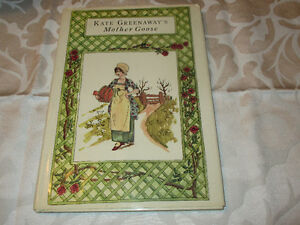 Kate Greenaway's Mother Goose HC/DJ Victorian illustrations
