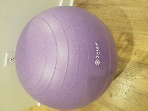 Gaiam exercise ball 55cm