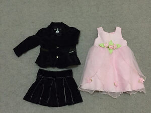 summer clothes for girl size 24 mo - 2T (33 pcs) in great shape