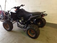 2015 mad max 250cc four stroke quad