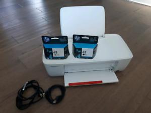 Hp deskjet printer (new ink cartridges)
