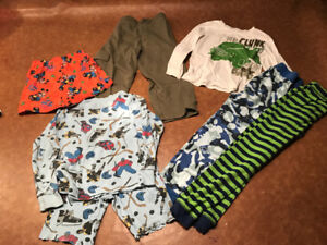 Size 5T Clothes. Mostly pj's