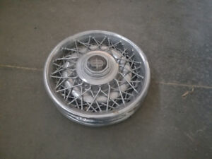 1967 Lincoln Continental Hubcaps