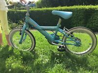 "Great condition girls 16"" bike"