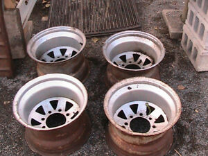 "15""x 10""   8 STUD WHEELS"