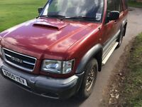 44x4 rare to find full history tax mot 3lt diesel manual 7 seater PX POSS MAYBE SWOP