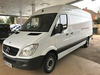 2012 MERCEDES BENZ SPRINTER 313 CDI Long Wheel Base 130 BHP