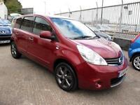 2011 61 Nissan Note 1.6 16v auto N-TEC MPV 60K 1FK Sat Nav,Alloys,Cruise Control