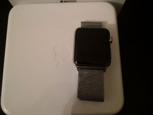 Apple watch 42mm Stainless Steel Sapphire Crystal (316L)