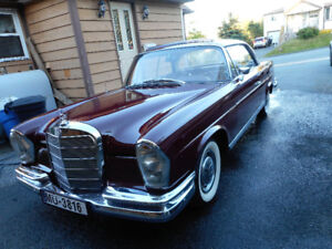 1961 MERCEDES 220 SEb COUPE