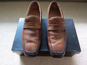 Banana Republic Harrison Leather Loafer Light Brown