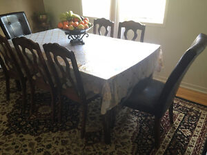 10 PIECE DINING SET FOR SALE