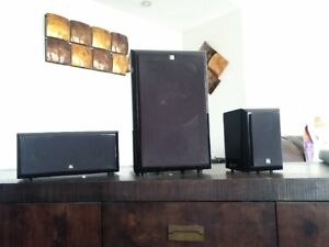 Acoustic Research speakers.