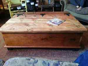 Custom Built - Rustic Pine, Chest Style, Coffee Table Peterborough Peterborough Area image 4