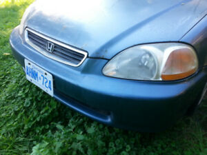 1996 HONDA CIVIC HEAD LIGHTS AND TAIL LIGHTS