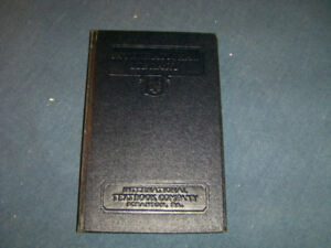 BOILER MANAGEMENT-1930'S I.C.S. TEXTBOOK-INSPECTION-FURNACES+