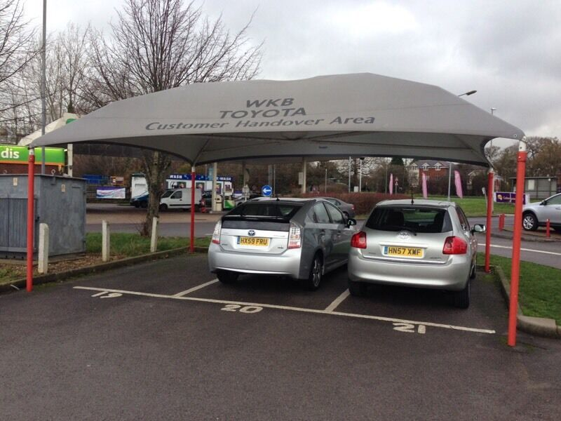 Canopy For Sale Car Wash Waiting In Bristol A38 To Airport