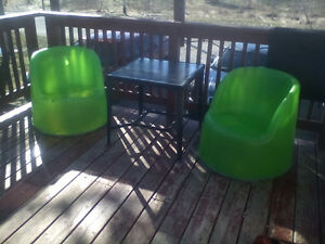 3 pcs patio set