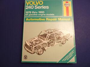Haynes: VOLVO 240 Series  1976 - 1993 Kitchener / Waterloo Kitchener Area image 1