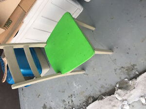 Solid Wood (Paintable) School Desk Chairs - 2 to choose from