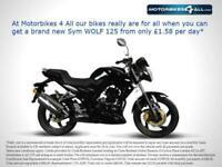 New Sym Wolf SB 125